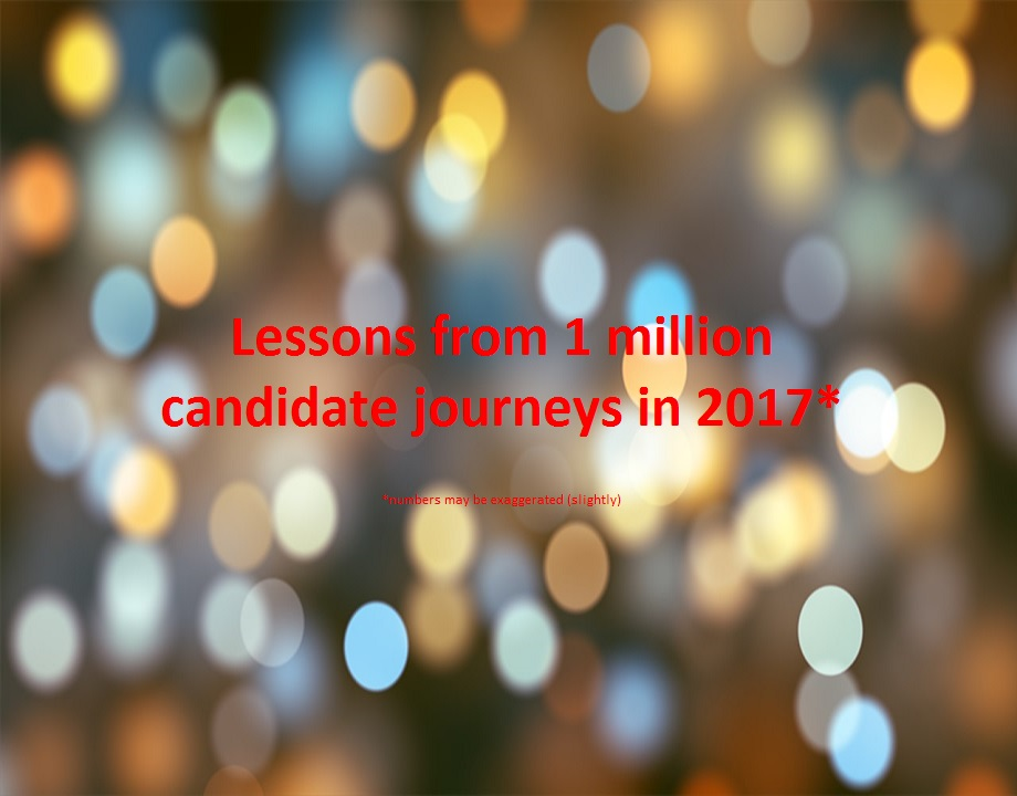 Lessons Learnt From 1 Million Candidate Journeys In 2017